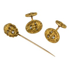 Mythological Cufflink and Stickpin Suite