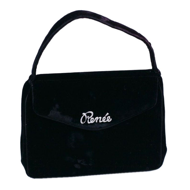 "Diamond ""Renee"" Bag, France"
