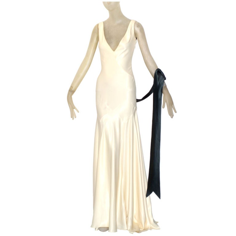 1992 John Galliano Runway Gown at 1stdibs