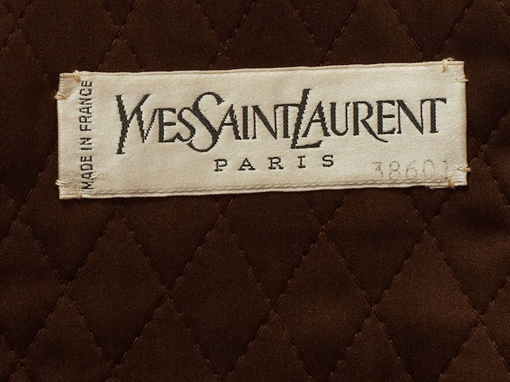 Yves st laurent couture russian collection ensemble at for Couture labels