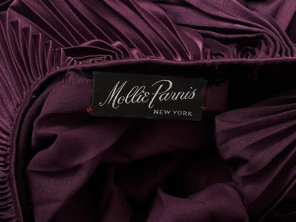 Mollie Parnis Plisse Tunic 4