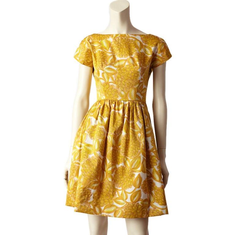 Elizabeth Arden Floral Print Dress