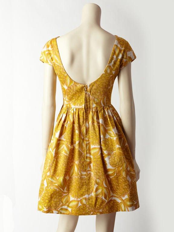 Women's Elizabeth Arden Floral Print Dress