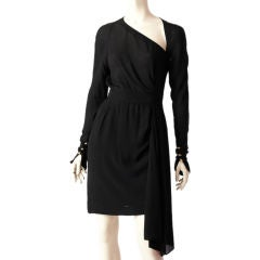 Karl Lagerfeld Chiffon  Cocktail Dress