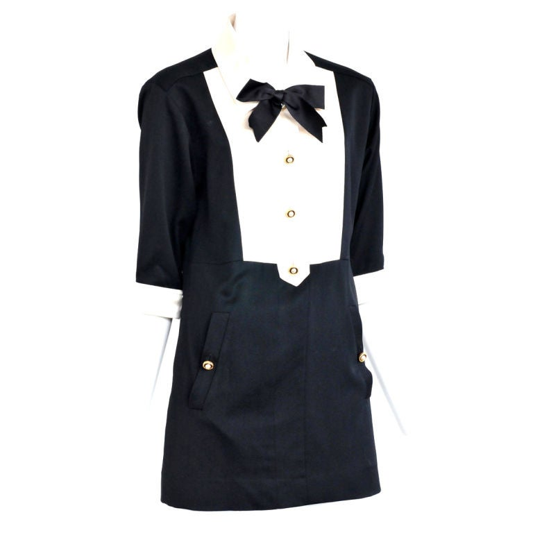 Chanel Tuxedo Dress 1