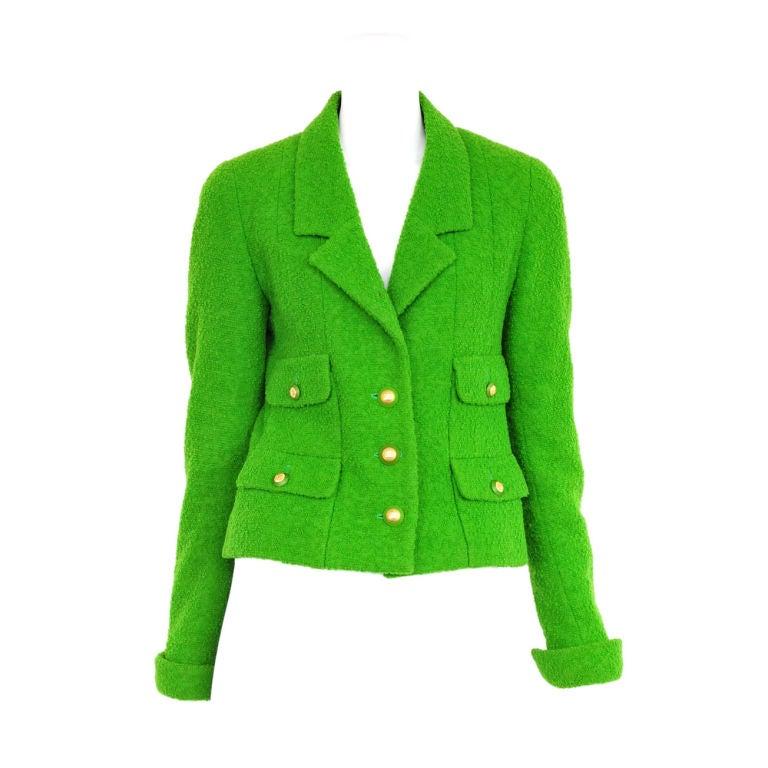 Chanel Boucle Jacket 1