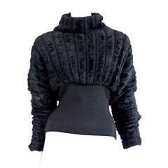 Alaia Faux Fur Sweater