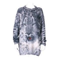 Krizia Iconic Leopard Sweater