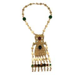 Huge Accessocraft Ethnic Inspired Pendant