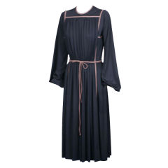 Donald Brooks Architectural Jersey Dress