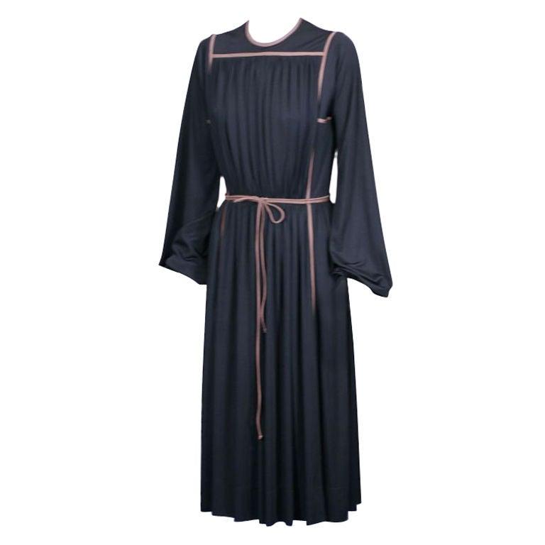 Donald Brooks Architectural Jersey Dress