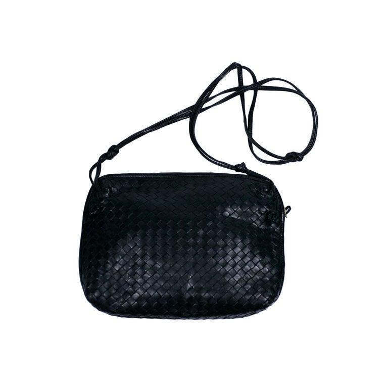 Bottega Veneta Woven Leather Mini Shoulder Bag 23