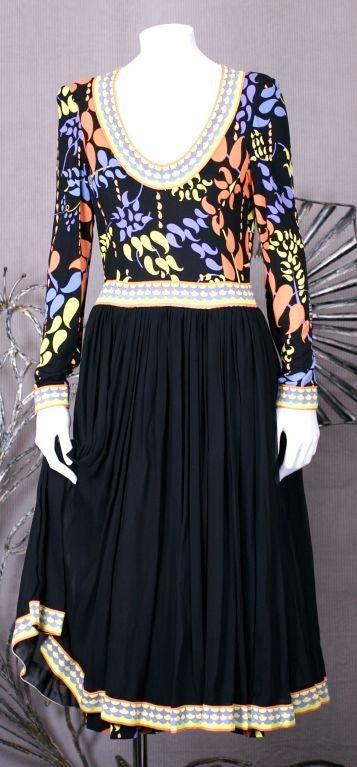 Bessi Silk Jersey Dress For Sale 2