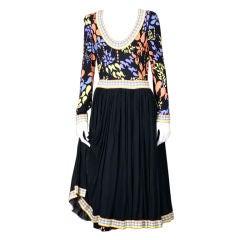 Bessi Silk Jersey Dress