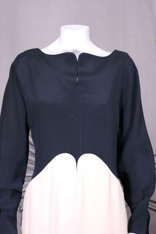 Geoffrey Beene Crepe Gown 5