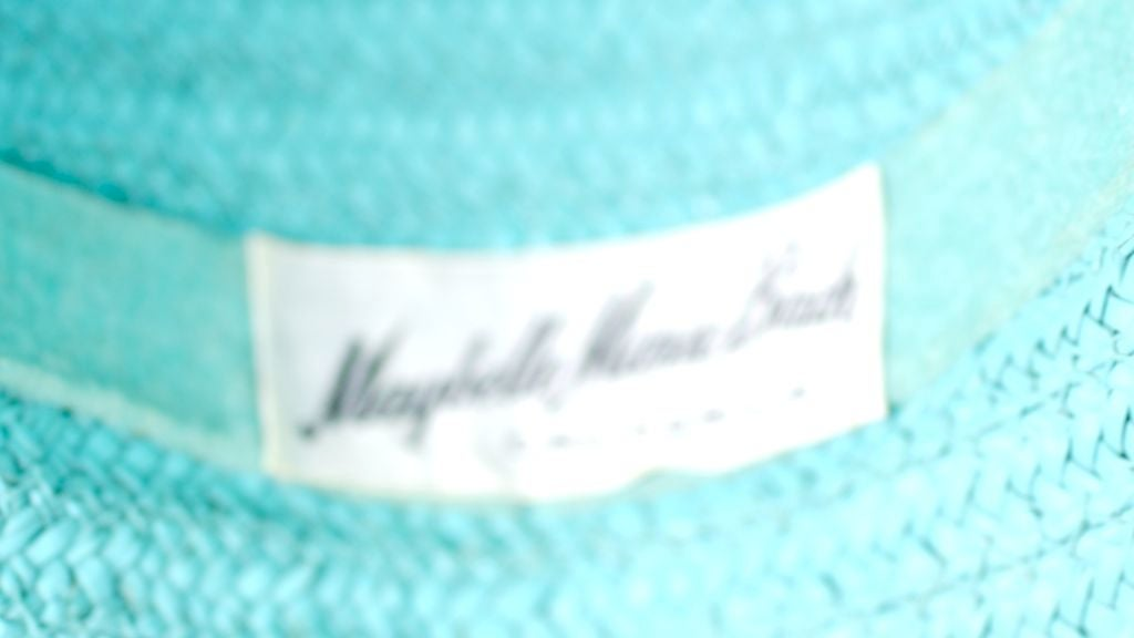 Women's Figural Pickle Straw Sun Hat, Maybelle Marie Birch,California For Sale