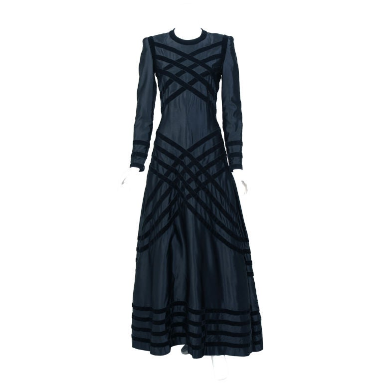 Chanel haute couture evening dress at 1stdibs for Haute couture dress price