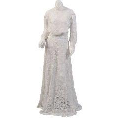 Irish Lace Two Piece Dress