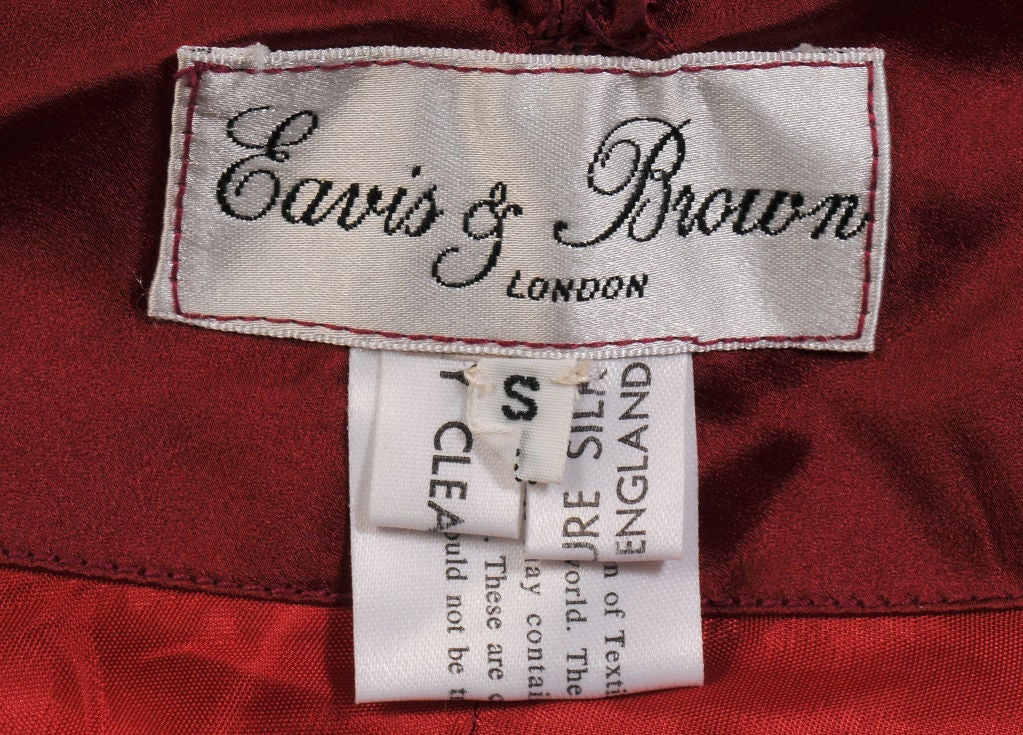 Eavis & Brown Evening Skirt with Train 5