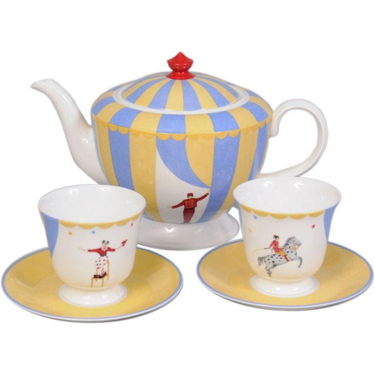 Hermes Circus Theme Tea Set 1