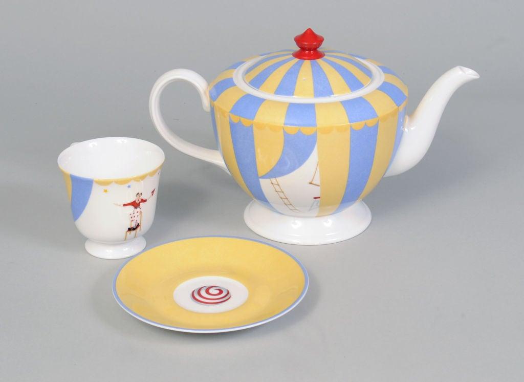 Hermes Circus Theme Tea Set 2
