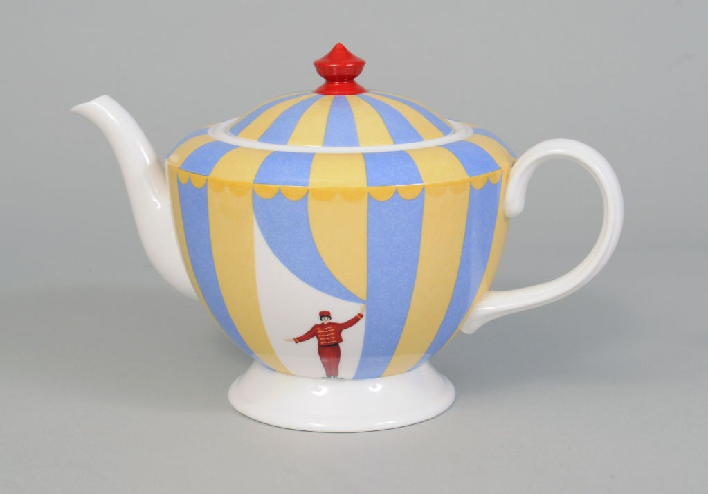 Hermes Circus Theme Tea Set 3