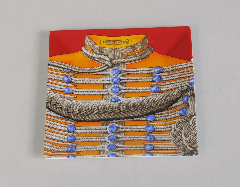 Hermes brandebourgs porcelain tray at 1stdibs for Paris orange card