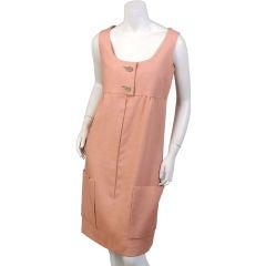 Larry Aldrich Linen Dress