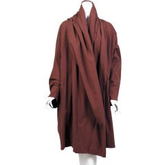Romeo Gigli Shawl Collared Coat