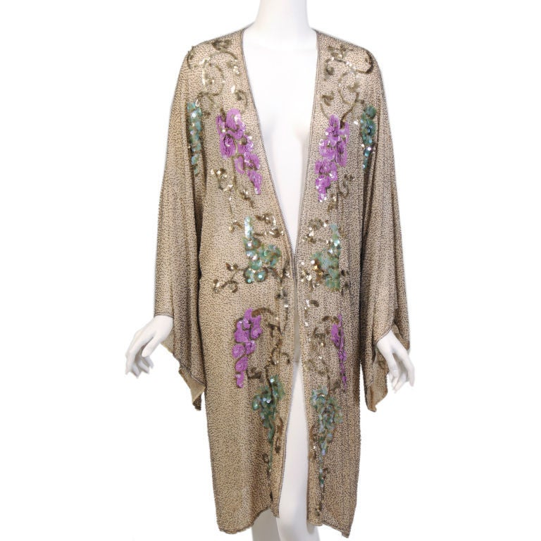 1920's French Beaded Coat 6