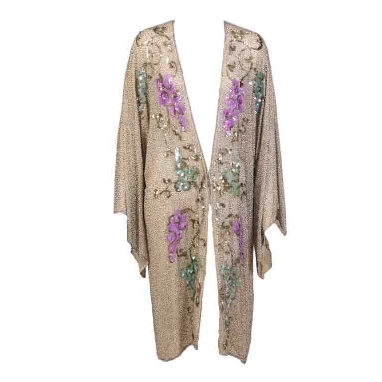 1920's French Beaded Coat 1