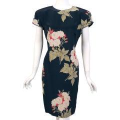 Genny Silk Print Dress