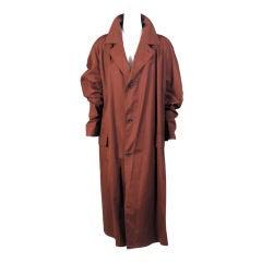Romeo Gigli Cotton Raincoat