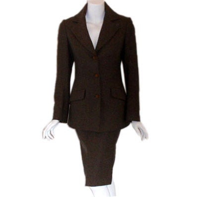 Vivienne Westwood Wool/Cashmere 2pc Jacket and Skirt, Circa 2000