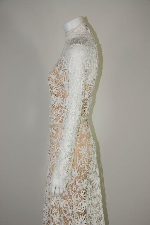 Irish Crochet Wedding Dress