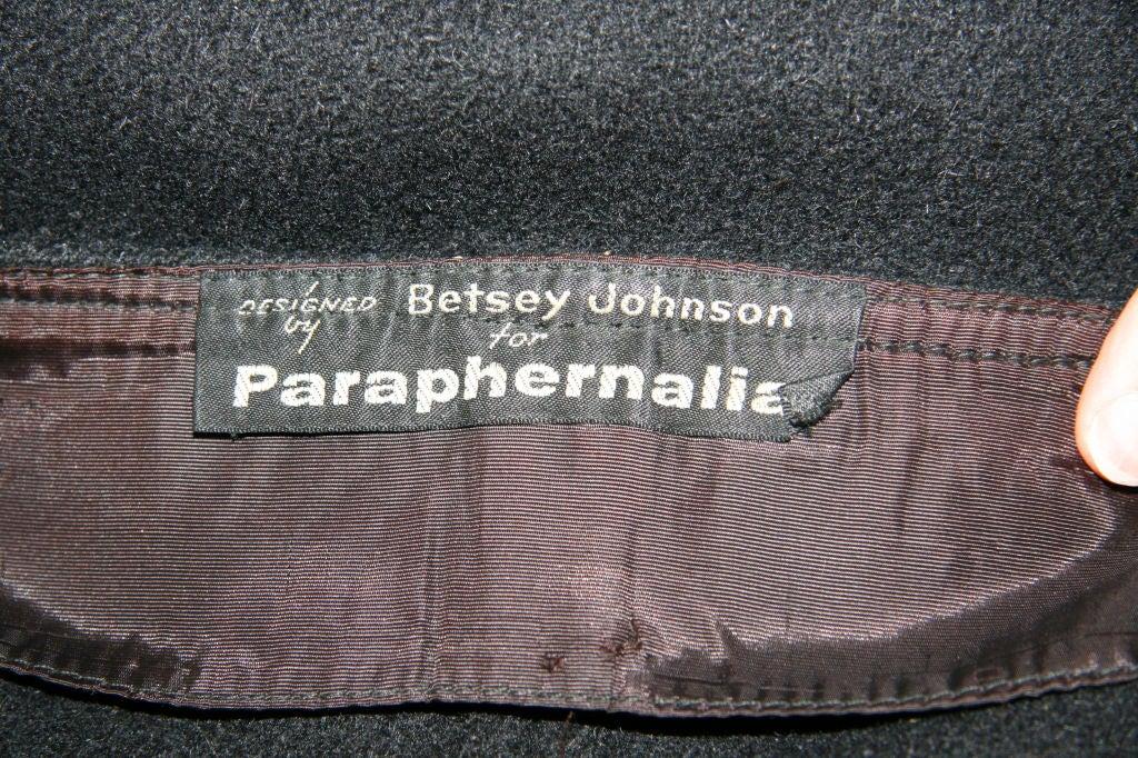 Paraphernalia 1960s Black Vest & Mini Skirt Ensemble 8