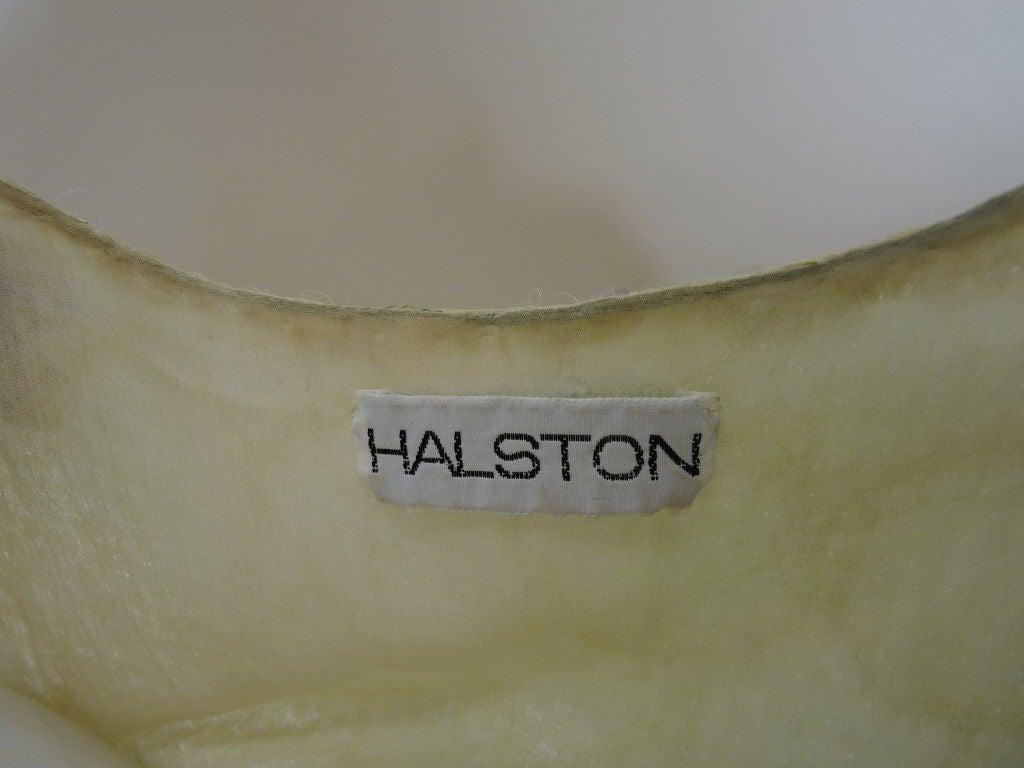 1970s Halston Ombré Sequin Mermaid Gown 8