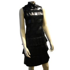 Chanel Shift dress with Neo-Victorian Details