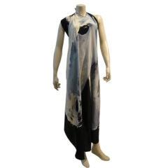 Michaele Vollbrach Graphic Horse Head Handkerchief Dress