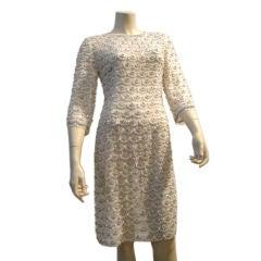 Heavily Encrusted, Beaded 60s Shift Dress