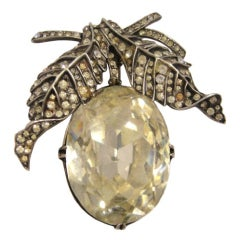 Spectacular Eisenberg Stylized Fruit Fur Clip