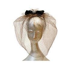 1980s Kokin Avant Garde Golden Blush w/ Silk Bow