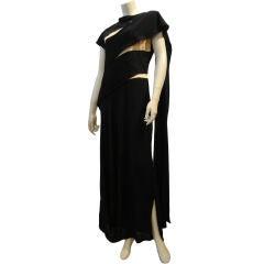 Peggy Hunt 40s Bandage/ Nude Illusion Dress