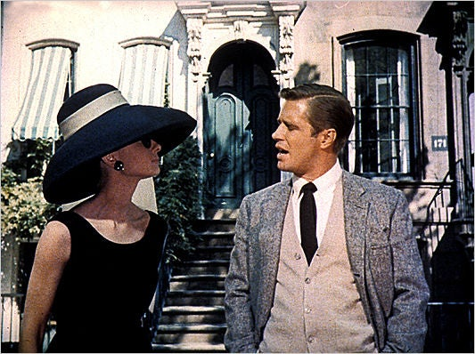 """Frank Olive Flame Red Straw """"Breakfast at Tiffany's"""" Style Hat image 5"""