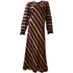 Sonya Rykiel Striped Linen Caftan