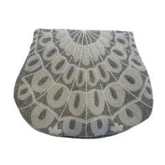 Morabito French Hand-Beaded 50s Evening Bag