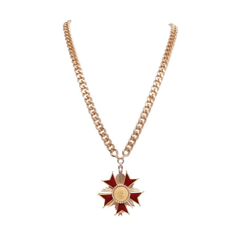 Nettie Rosenstein Medallion Necklace 1
