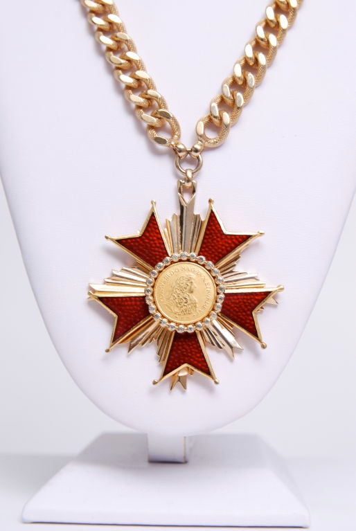 Nettie Rosenstein Medallion Necklace 2
