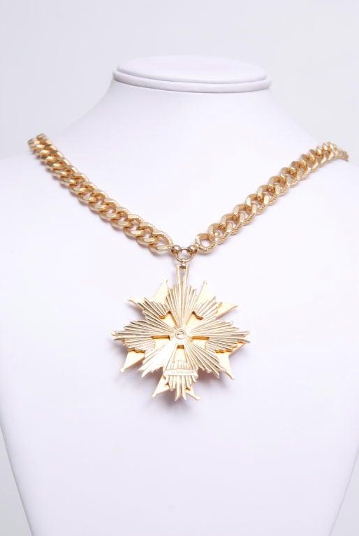 Nettie Rosenstein Medallion Necklace 3