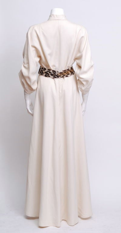 Gray Saks' Hostess Gown For Sale